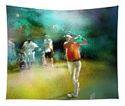 Golf In Club Fontana Austria 03 Tapestry