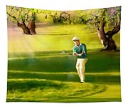 Golf In Spain Castello Masters  02 Tapestry