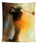 Golf In The Portugal Masters 01  Tapestry