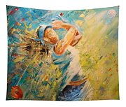 Golf Passion Tapestry