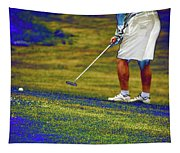 Golfing Putting The Ball 02 Pa Tapestry