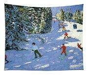 Gondola Austrian Alps Tapestry