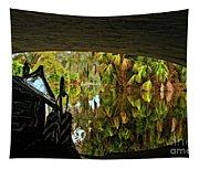 Gondola Under A Bridge Tapestry