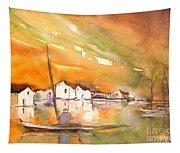 Gone Fishing Tapestry