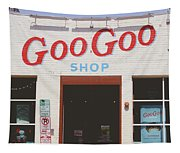 Goo Goo Shop- Photography By Linda Woods Tapestry