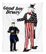 Good Boy Dewey Tapestry