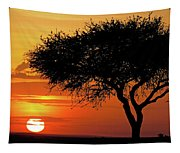 Good Night, Maasai Mara Tapestry
