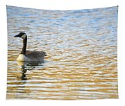 Goose On The Pond Tapestry