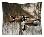 Goose Reflection Tapestry