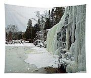 Gooseberry Frozen Falls Tapestry