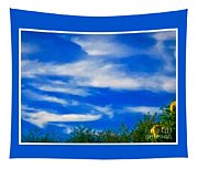 Gorgeous Blue Sky With Clouds Tapestry
