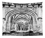 Gothic Architecture At Princeton University  Princeton New Jersey Tapestry