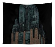 Gothic Night. Architecture Of Los Angeles Tapestry