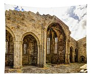 Gothic Temple Ruins - San Domingos Tapestry