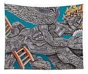Grafitti Angel Tapestry