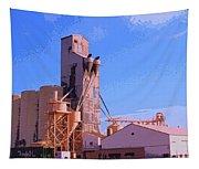 Grain Elevator Tapestry