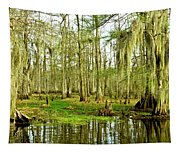 Grand Bayou Swamp Tapestry