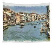 Grand Canal In Venice Tapestry