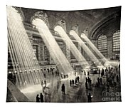 Grand Central Terminal, New York In The Thirties Tapestry