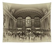 Grand Central Terminal Vintage Tapestry