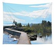 Grand Marais Breakwater Tapestry