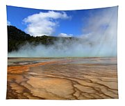 Grand Prismatic Patterns Tapestry