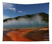 Grand Prismatic Spring At Yellowstone's Midway Geyser Basin Tapestry