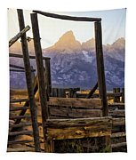 Grand Teton Framed Tapestry