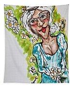 Grandma Hippie Tapestry