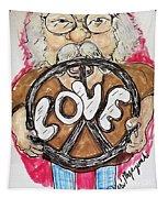 Grandpa Hippie Tapestry