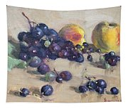 Grape And Peach Tapestry