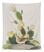 Grass Finch Or Bay Winged Bunting Tapestry