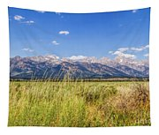 Grass In The Wind Tapestry