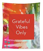 Grateful Vibes Only Journal- Art By Linda Woods Tapestry