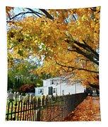 Graveyard In Autumn Tapestry