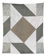 Gray Quilt Tapestry
