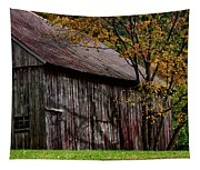 Gray Weathered Barns Number Three Tapestry