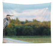 Great Blue Great View Great Meadows Tapestry
