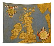 Great Bretain And Ireland Tapestry