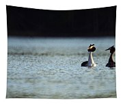Great Crested Grebe Tapestry