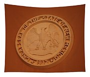 Great Seal Of The State Of New Mexico 1912 Tapestry
