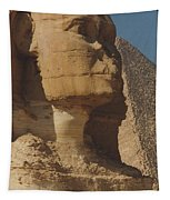 Great Sphinx Of Giza Tapestry by Travel Pics