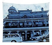 Great Western Perth Cyan Tapestry
