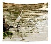 Great White Egret Tapestry