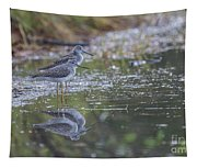 Greater Yellowlegs Reflected Tapestry