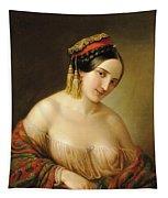 Greek Woman Tapestry