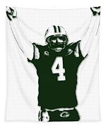Green Bay Packers Bret Favre 3 Tapestry