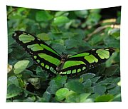 Green Butterfly Tapestry