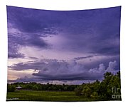 Green Cay Storm 7 Tapestry