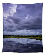 Green Cay Storm 8 Tapestry